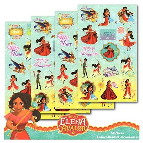 Elena of Avalor Disney Stickers 4 Sheets
