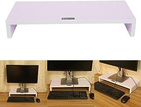 laptop notebook crayfomo Supporto per monitor Stand Supporto per Monitor iMac legno naturale Fai da te Montaggio arco COMPUTER Desktop Monitor Heighten supporto mensola supporto display staffa PC