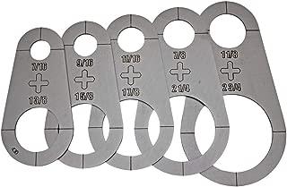 Plasma Stencil - Circle PRO upgrade - Cutter Guide 5 pc. Kit - .430