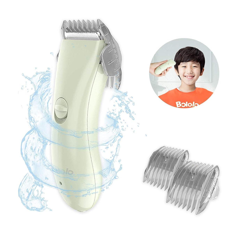 エトナ山ライフルマディソンBOLOLO 子供バリカン こども用 散髪 防水 充電·交流式 緑 BL-2400 …