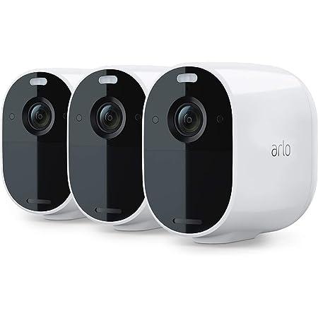 Arlo Essential Spotlight Wlan Überwachungskameras Kabellos Innen Aussen 1080p Farbnachtsicht Bewegungsmelder 6 Monate Akku 2 Wege Audio Direkte Wlan Verbindung Kein Hub Benötigt Vmc2330 Baumarkt