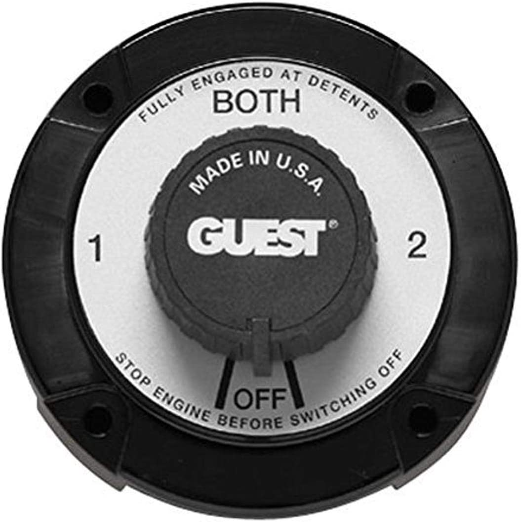 Guest 2304A Battery Switch 2 Pos Heavy Duty New Battery Switches ...