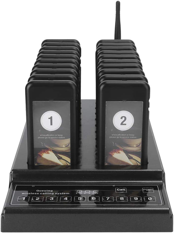 20 Pager Buzzers Popular overseas Wireless Calling Waiting Oakland Mall Lineup Si Queue System
