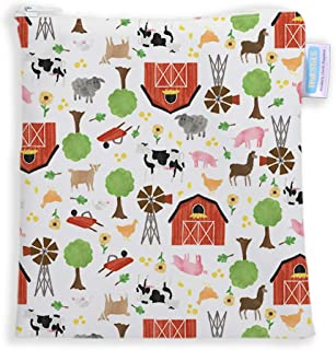 Thirsties Reusable Sandwich & Snack Bag - Farm Life