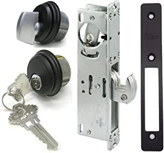 Adams Rite Style Door Lock Mortise Hook Deadbolt & Cylinder Combo, Adams Rite Cam, in Duronotic (1-1/8
