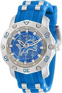 Invicta NFL Detroit Lions Automatic Blue Dial Ladies Watch 32883