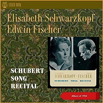 Schubert Song Recital (Album of 1954)