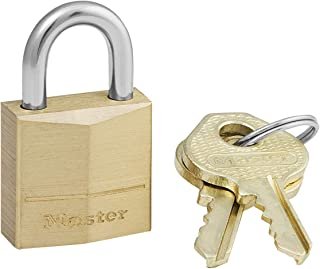 Master lock Luggage Padlock Keyed Gold (Brass) 120EURD