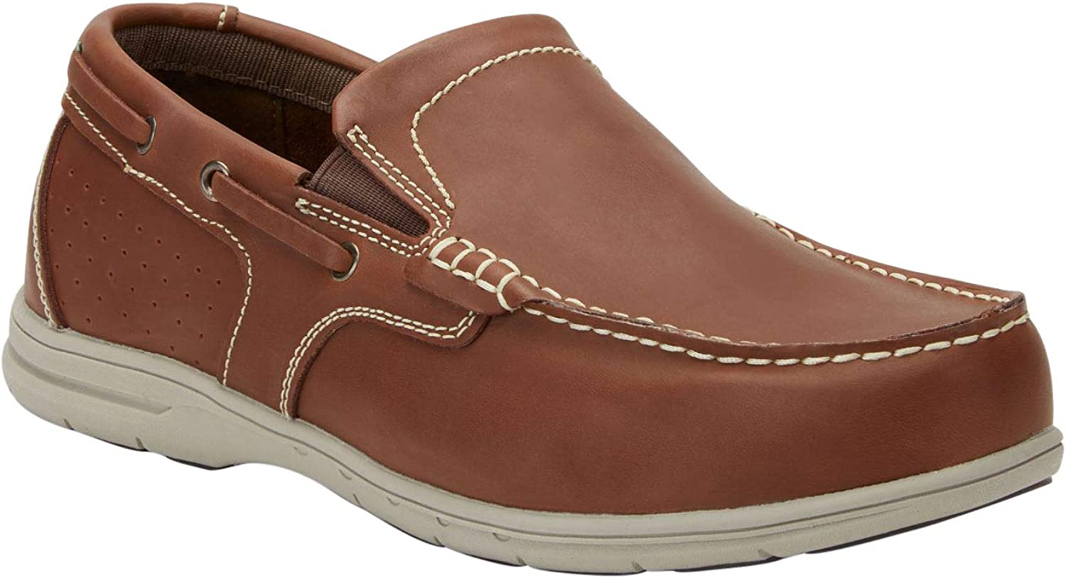 KingSize Men's Big & Tall Slip-On Boat shoes