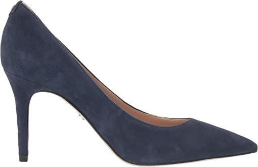Baltic Navy Suede Leather