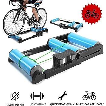 YYDE Moto Trainer Soporte para Bicicletas Rodillos de Plegado ...