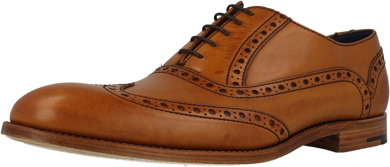 Barker Grant Cedar Cedar Cedar Calf läder Lace Up Brogue skor  välkommen att välja