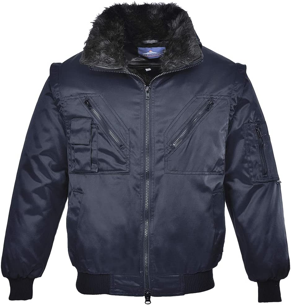 Portwest UPJ10NARL Regular Fit Jacket Navy Pilot 2021 spring and summer new Beauty products Large