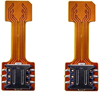 Anonymous New Hybrid SIM Slot Adapter, Avails You to Run 2 SIM and Micro SD Card, All at A Time (Nano to Nano Sim Slot) Pa...