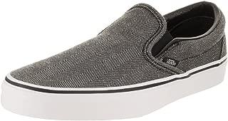 Vans Unisex Oversized Herringbone Classic Slip-On Skate Shoe