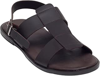 WCFC Men's Leather Casual Sandal