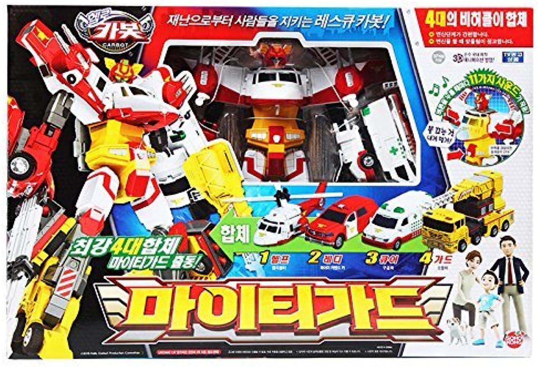 Hello Carbot Mightyguard Transformer Robot Car Toy Action Figure Korea Animation by Sonokong