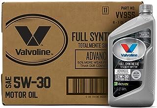 Valvoline Advanced Full Synthetic SAE 5W-30 Motor Oil 1 QT, Case of 6
