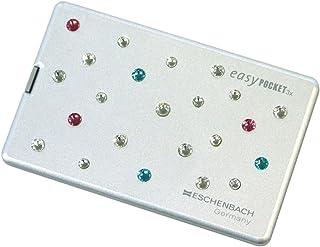 ESCHENBACH 携帯用ルーペ イージーポケット 倍率3倍 LEDライト付き アストロノーツ 1521-11S03