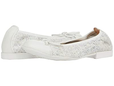 Geox Kids Plie 60 (Little Kid) (White) Girl