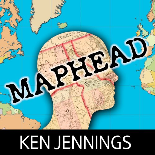 Maphead audiobook cover art