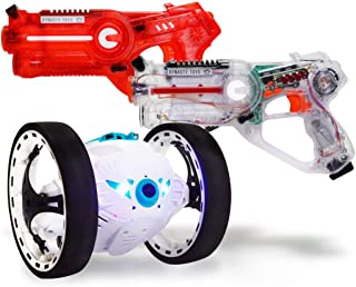 Robots For Kids Toy Jukibot - Includes Interactive Blaster (Family Gaming Experience for Kids and Parents)