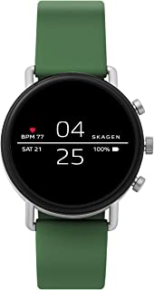 Connected Falster 2 Stainless Steel and Silicone Touchscreen Smartwatch