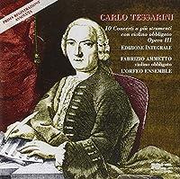 Tessarini: 10 Violin Concerti (1996-01-01)