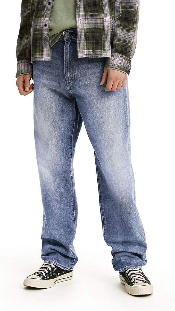 Men's Vintage Pants, Trousers, Jeans, Overalls Levis Mens Stay Loose Denim Jeans  AT vintagedancer.com
