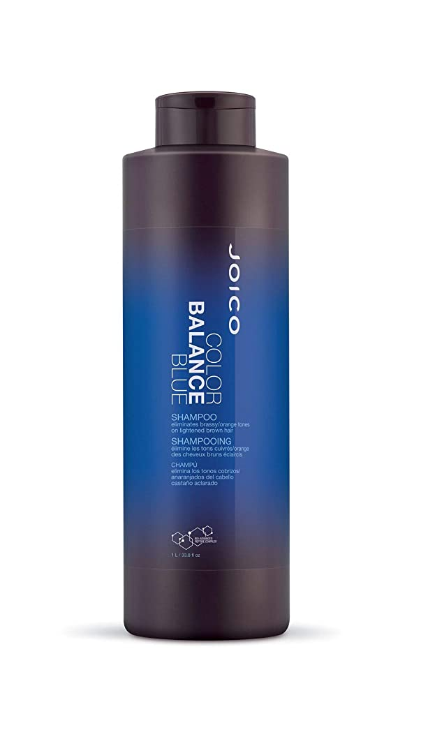 艦隊瞑想ジャンプするジョイコ Color Balance Blue Shampoo (Eliminates Brassy/Orange Tones on Lightened Brown Hair) 1000ml/33.8oz並行輸入品