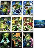 Ben 10 Alien Force: Complete TV Series Seasons 1-3 DVD Collection with Bonus Art Card