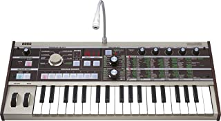 KORG アナログ モデリング シンセサイザー ボコーダー microKORG マイクロコルグ コンパクト 電池駆動可 37鍵 アダプター マイク付属