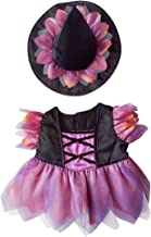 Stuffems Toy Shop Halloween Witch Custome Teddy Bear Clothes Outfit Fits Most 14