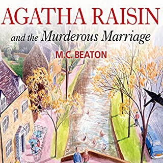 Agatha Raisin cover art