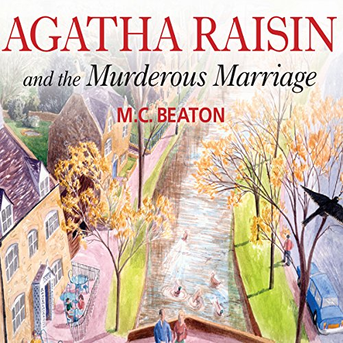 Agatha Raisin audiobook cover art