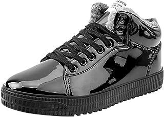 Kauneus Women Men Fashion Sequin Glossy Trend Sneakers Unisex Premium Cool High Top Sport Shoes Couples Casual Shoes