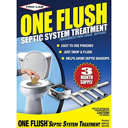 PRO-LAB ON1024 One Flush Septic Treatment 3 Month Supply