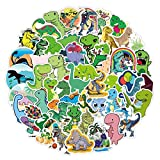 Cute Dinosaur Stickers 50PCS Waterproof Vinyl Stickers Trendy Aesthetic Stickers for Laptop, Water Bottles, Skateboard, Phone, Luggage Animal Decals Helmet Bumper Graffiti Patches Decoration Gifts