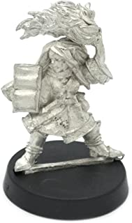 Stonehaven Gnome Wizard Female Miniature Figure (for 28mm Scale Table Top War Games) - Made in USA