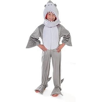 Disfraz de tiburón de felpa con cabeza para niños de entre 5 y 7 ...