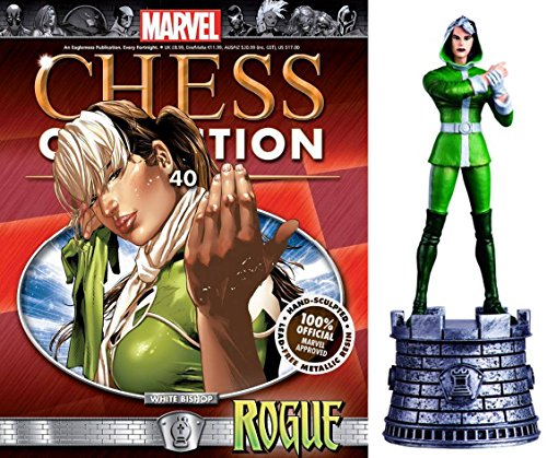 Figura de Ajedrez de Resina Marvel Chess Collection Nº 40 Rogue