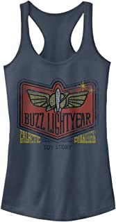 Fifth Sun Women's Toy Story Buzz Lightyear Graphic Racerback Tank Top