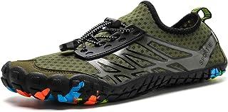 Zapatos de Agua Escarpines Hombre Mujer Zapatos de Playa Descalzo Natacion Zapatos de Deportes Acuaticos