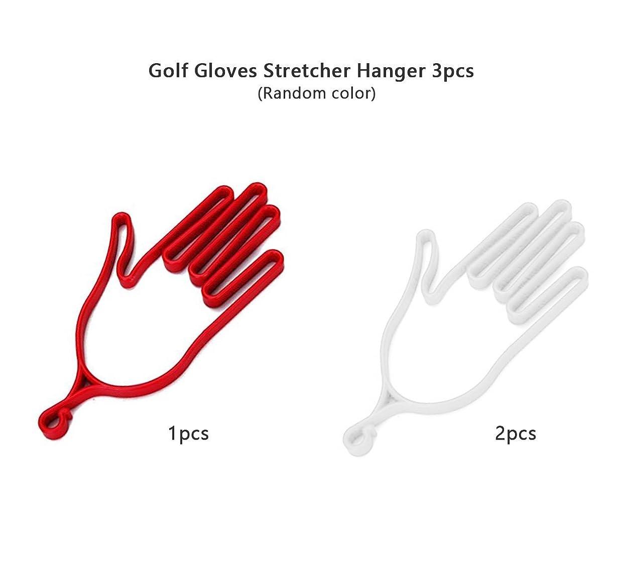 つかまえる理容室ベンチャーIDホームposma gh010usゴルフグローブストレッチャーハンガー3pcsセット耐久性スポーツ手袋サポートフレーム