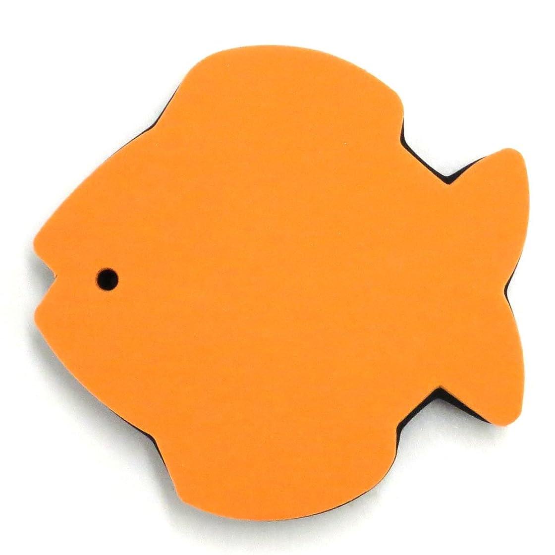 かわすレタッチ世界記録のギネスブック肩当て Magic Pad マジックパッド さかな オレンジ