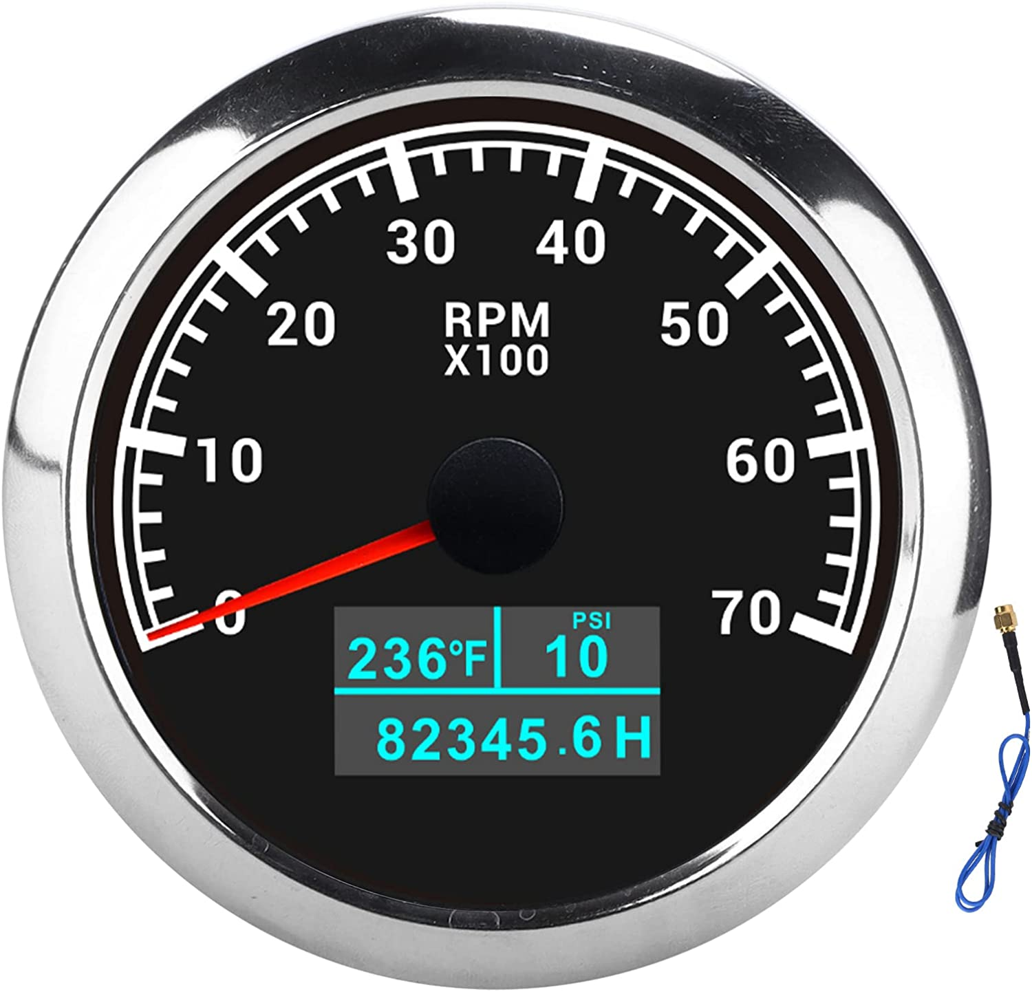 All stores Very popular are sold Tachometer Gauge RPM Water Temperature Oil Pre