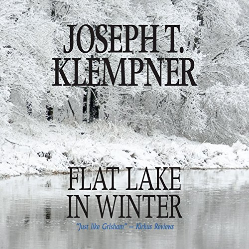 Flat Lake in Winter audiobook cover art