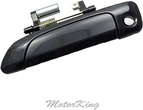 MotorKing UF1013-FL-SB Door Handle (For Honda Civic Smooth Black 2001-2005 Outer Outside Front Left)