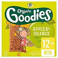 Organixは、有機りんご&オレンジシリアルバー6×30グラムをグッズ - Organix Goodies Organic Apple & Orange Cereal Bars 6 x 30g [並行輸入品]