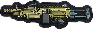 M249 Light Machine Gun PVC Morale Patch